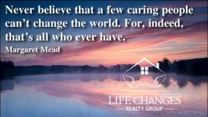 Change the world w Logo