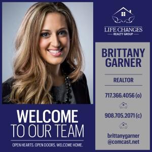 Welcome Brittany Garner